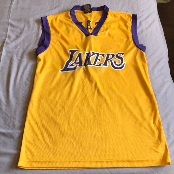 cbdc26d3a Lakers Other - Brand New Chick Hearn Lakers Promo Jersey